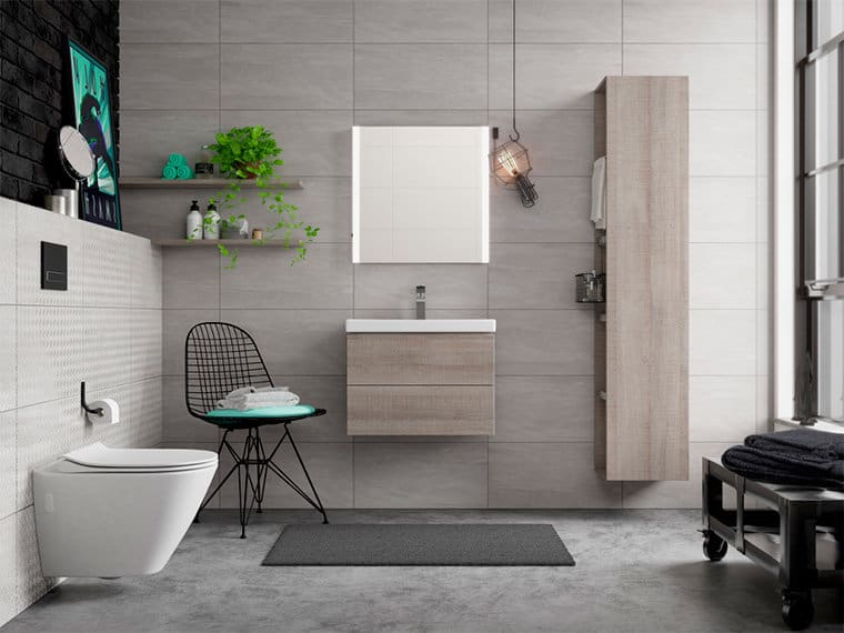 Ванная комната в стиле лофт: мебель, дизайн туалета, душевой и санузла +150 фото